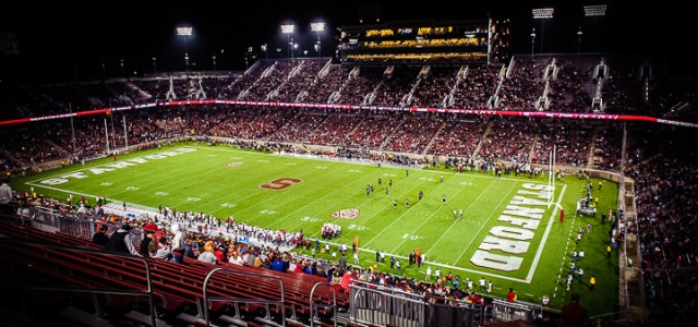 PALO ALTO, CA – OCTOBER 10: The Stanford Cardinal defeated the Washington State Cougars 34-17 at Stanford Stadium on October 10, 2014 in Palo Alto, California.